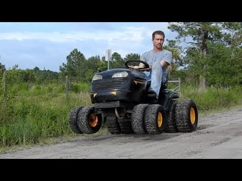 How To Put Duals On The Front Of A Mud Mower 4x8 Youtube