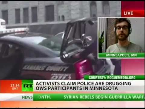 Police offering drugs to Occupy Minneapolis?