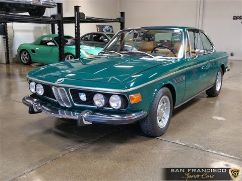 1973 3.0 Csl >> Beautifuly Restored 1973 BMW 3.0 CS for Sale - YouTube