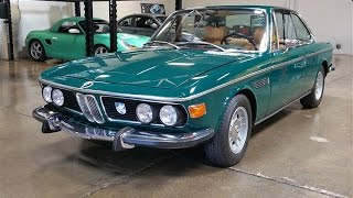 Beautifuly Restored 1973 BMW 3.0 CS for Sale