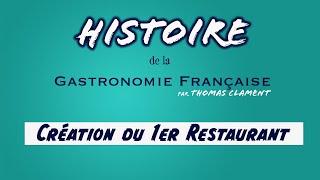 Création 1er Restaurant / Thomas CLAMENT
