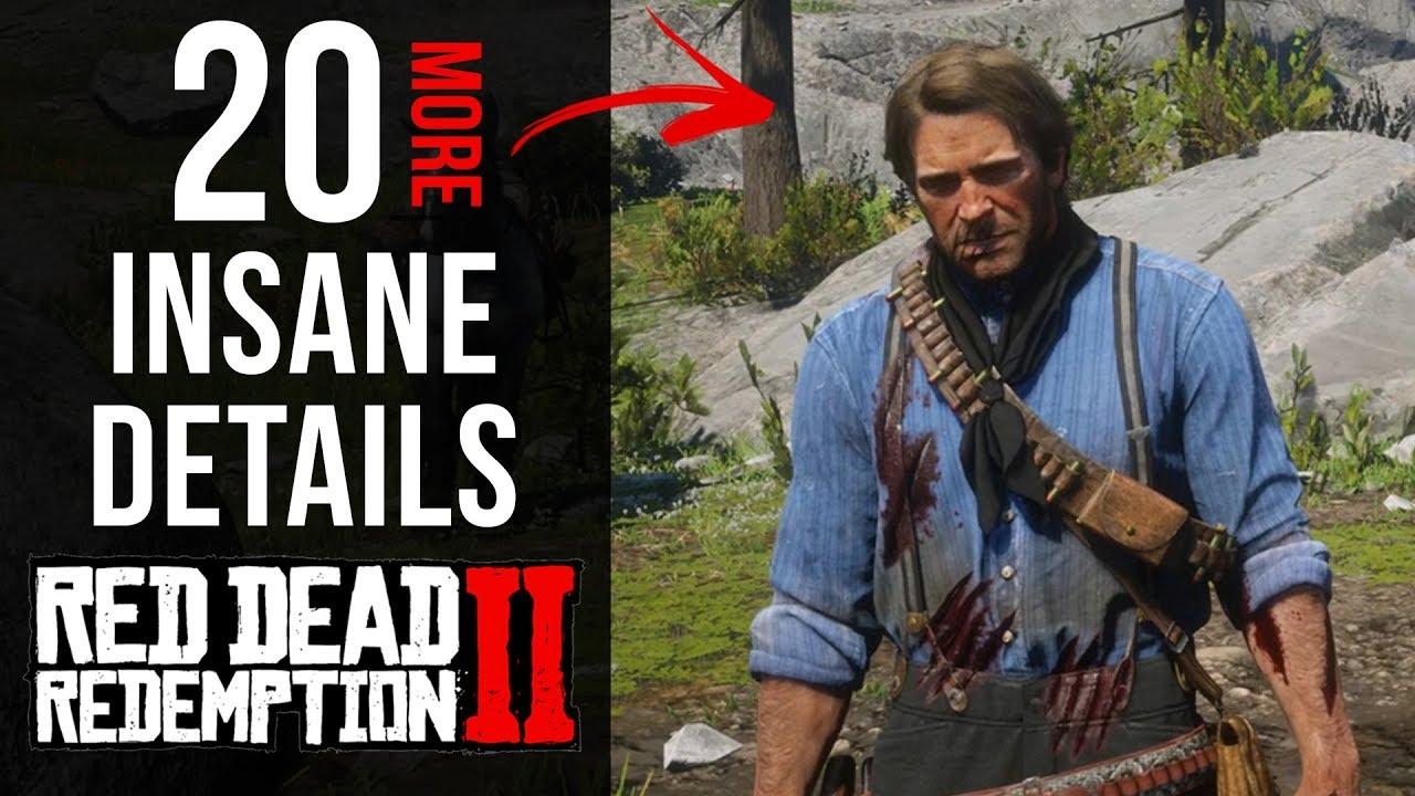 20 More INSANE Details in Red Dead Redemption 2 (Part 2)
