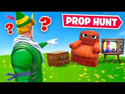 *NEW* PROP HUNT Gamemode In Fortnite (OFFICIAL)