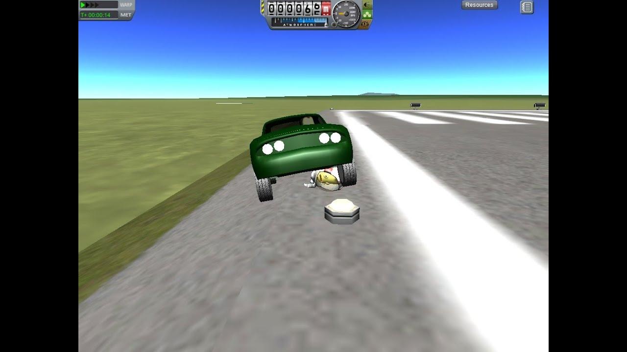 Kerbal Space Program Mod Spotlight Drive-able Car - YouTube