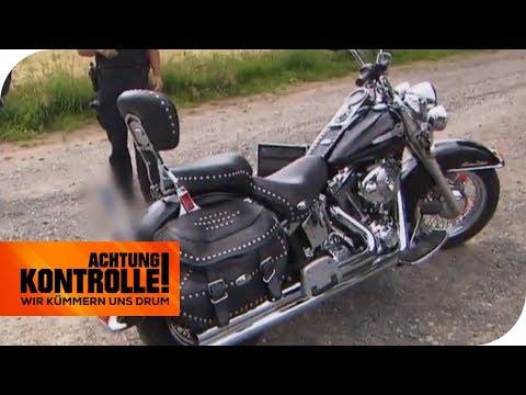 112 Dezibel!! Diese Harley ist viel zu laut für die Straße! | Achtung Kontrolle | kabel eins