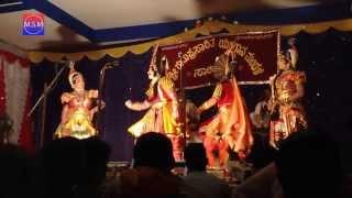 Yakshagana 2013 - Rajesh Bhandary - Narasimha Gavnkar - Raghavendra Mayya - Agni Charithra
