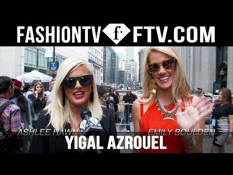 Yigal Azrouel Spring 2016 Arrivals at New York Fashion Week | NYFW | FTV.com v