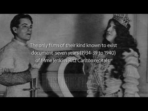 THE REAL FLORENCE FOSTER JENKINS ON FILM