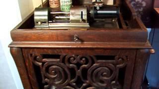When Grandma Was a Girl - Sung by Ada Jones - 1908 Edison 4 minute wax Amberol Record