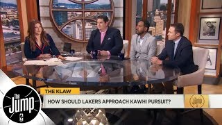 With LeBron James coming, what should Lakers offer for Kawhi Leonard?   The Jump   ESPN