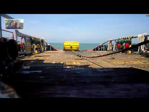 ANCHOR HANDLING 1036 SEACOVE KNIGHT Mengambil Buoy & Menanikkan Di Deck