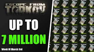 Make UP TO 7 MIĻLION This Week From Your Hideout In Escape From Tarkov | Short Guides