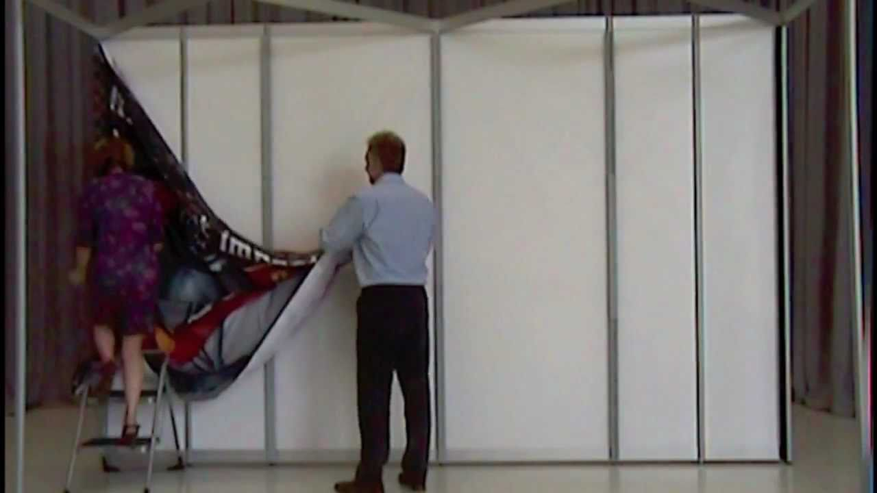 Shell Clad Exhibition Stand : Shell clad installation working with fabric youtube