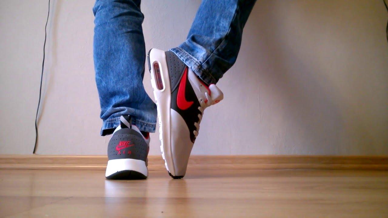 Podrobione/fake Nike Air Max Tavas 705149-002 z AliExpress na nogach/on feet