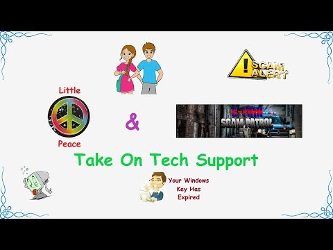 Little Peace & G-man Take On Tech Support