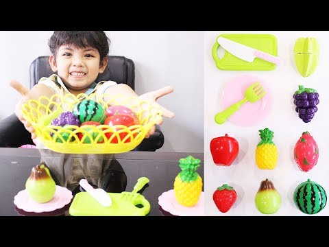Fun Learning Names and Cutting of Fruits Toys with Nita Toys Play