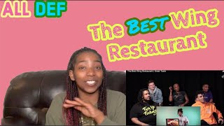 THE BEST WING RESTAURANTS | ALL DEF GREAT TASTE REACTION |Amazing Grace Daily