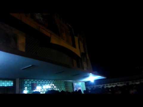 jr ntr fans hungama at chennai national theatre || janatha garage