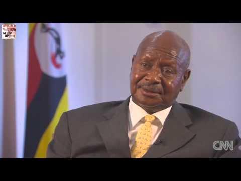 Gay science is all fake, admits Ugandan President Yoweri Museveni
