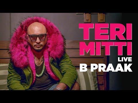B Praak Sings Teri Mitti Live | DLF Mall Noida | B Praak Live