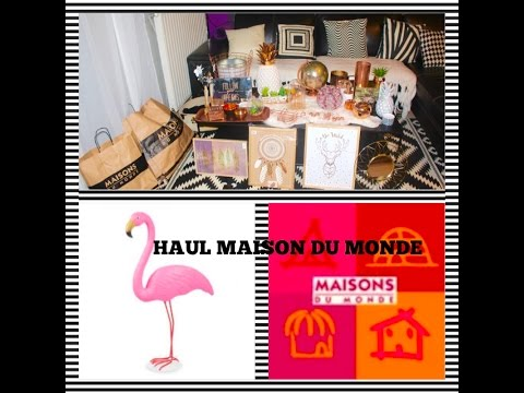 HAUL DECO--MAISON DU MONDE----fashion style  (by yam.)