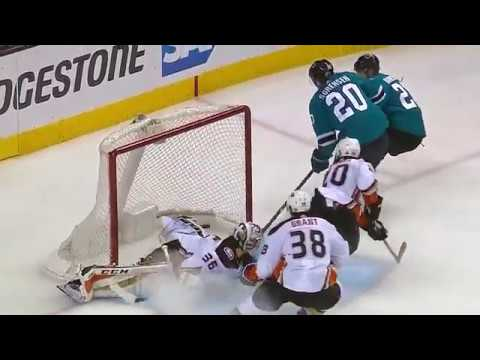 San Jose Sharks vs Anaheim Ducks Round 1 2018 NHL Stanley Cup Playoffs