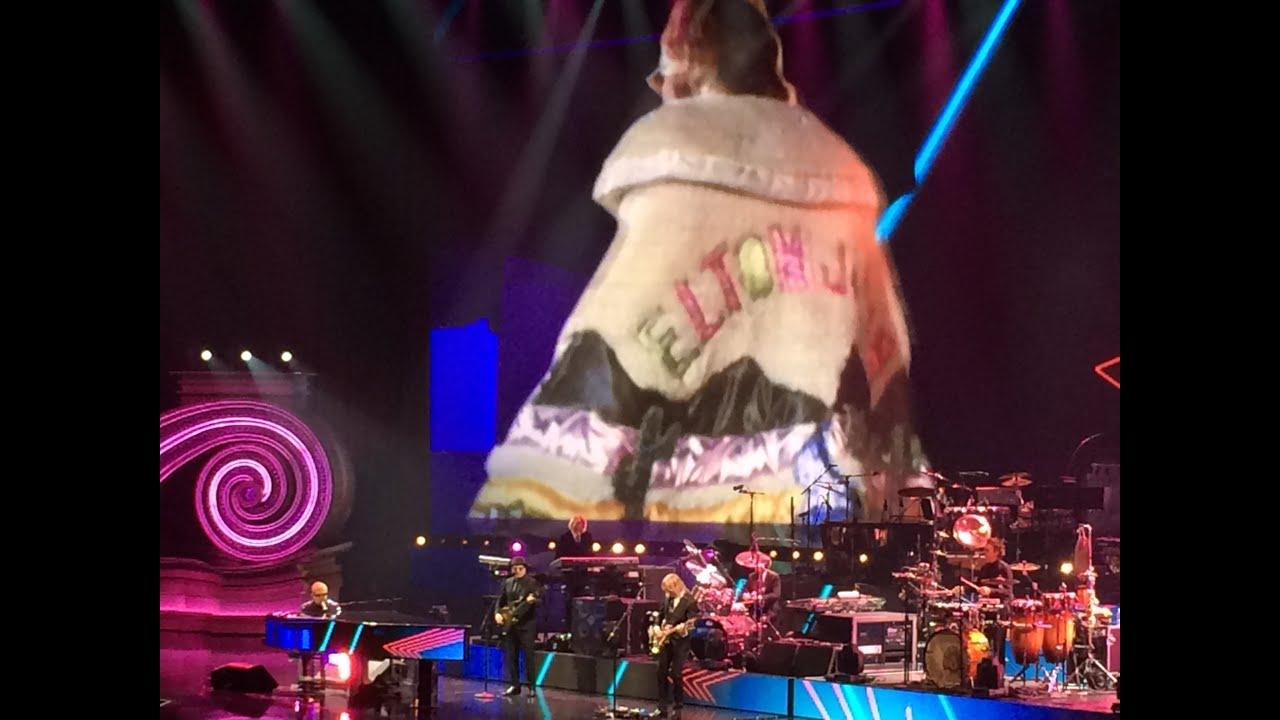 Empty Garden Performed By Elton John In His Million