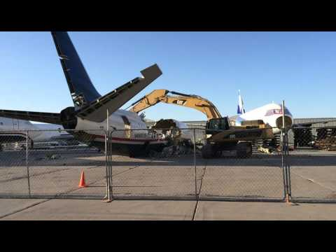 Airplane Recycling - Tucson Airport