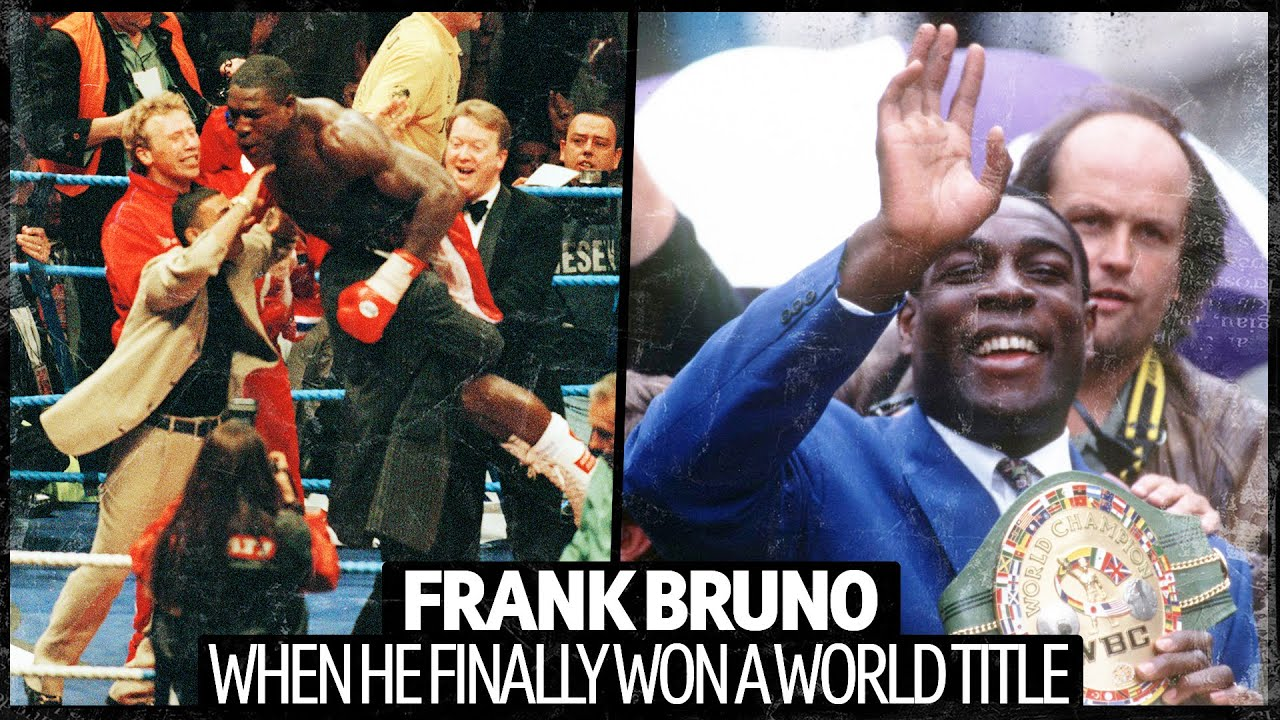 EPIC SCENES 🙌 Frank Bruno FINALLY Wins A World Title | The Frank Warren Story