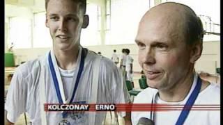 Bartos Bálint döntős Tatán. vívás, párbajtőr.VOB Thumbnail