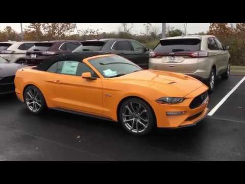 My 2018 Ford Mustang Gt Convertible Arrived Orange Fury