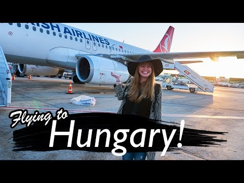 FLying to Hungary 🇭🇺(Budapest Airport to City)