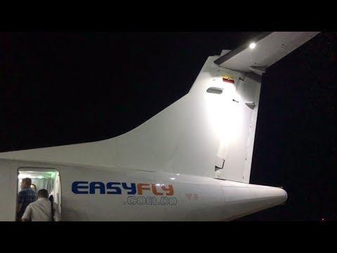 |trip-report|-easyfly-brand-new-atr-72-600-|-yopal---bogotá-|-new-interior-|hd|