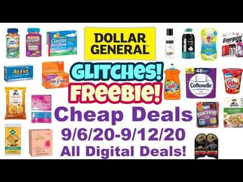 Dollar General Cheap Deal 9/6/20-9/12/20! All Digital Deals!