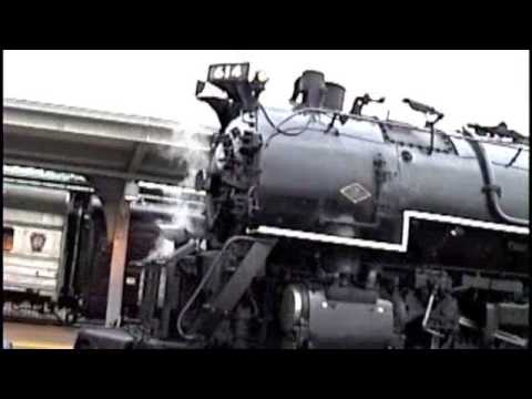 Christmas Is Train Time! Steam Engine On New Jersey Transit Commuter Line