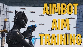FORTNITE: BEST AIM TRAINING FOR PC AND CONSOLE!