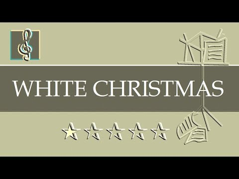 Video sheet music - Christmas song - White Christmas (Eb Sheet music - Guitar Chords)