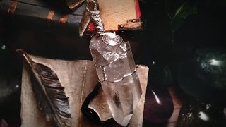 How To Wire Wrap Crystals
