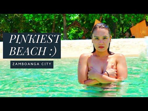 BEST PINK BEACH in The PHILIPPINES - Great Sta Cruz Island In Zamboanga City