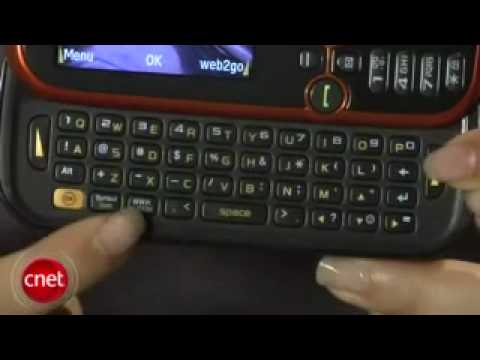 Samsung Gravity 2 SGH-T469 Video Review - CNET