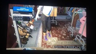 MORE MODDED OUTFITS GLITCHES- GTA 5 ONLINE/ PS3 1.27