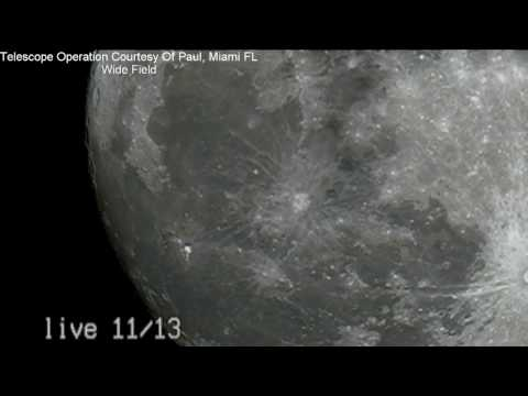 SUPER MOON LIVE STREAM 11-13-16