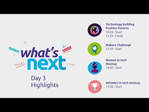 What's Next - Vivatech Live Stream - Day 3