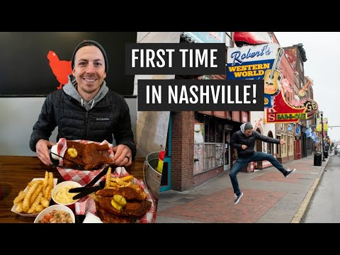 Our first time in Nashville: Trying hot chicken + seeing the sights!
