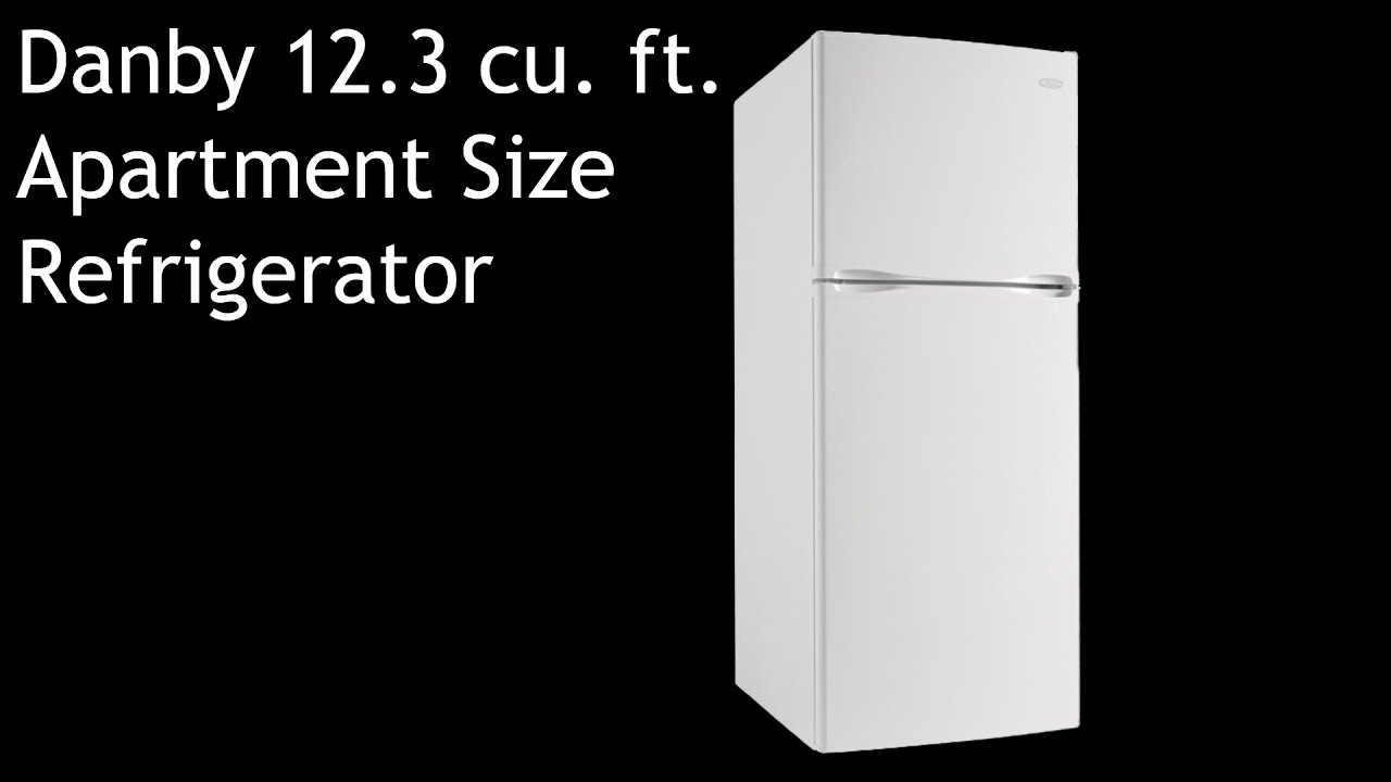 Danby 12.3 cu. ft. Apartment Size Refrigerator DFF123C1WDB (Review ...