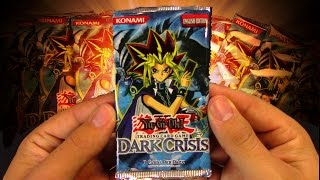 YuGiOh Patron Power CLASSIC 2003 Dark Crisis Booster Pack Opening! OH BABY!!