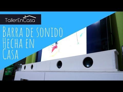 Barra De Sonido Casera Para Tv