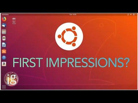 Ubuntu 18.04 LTS First Impressions | Final Beta
