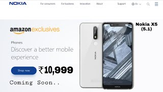 Nokia X5 (5.1) CONFIRMED - Price, Features, release date in India??
