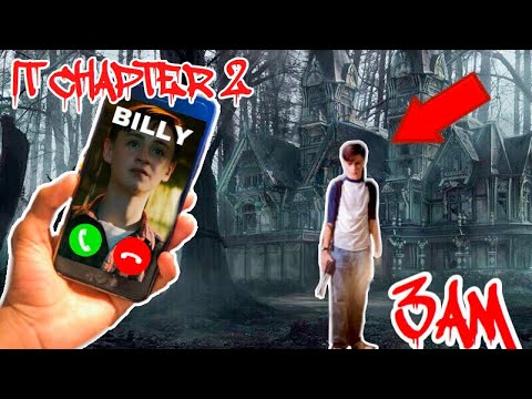 DO NOT CALL BILLY FROM IT CHAPTER 2 AT 3AM *HE ANSWERED* #ITCHAPTER2